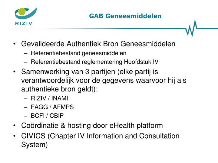 GAB Geneesmiddelen