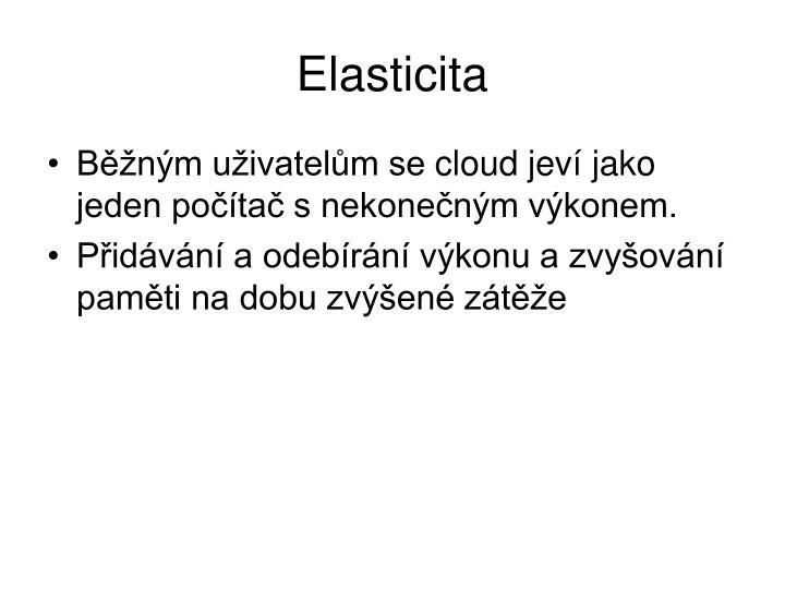 Elasticita