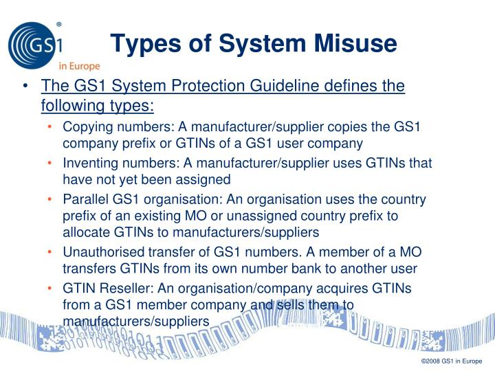 Types of System Misuse