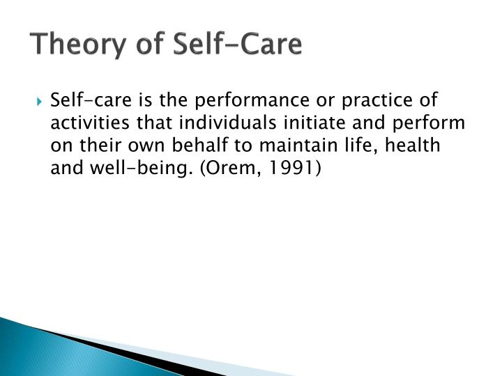 theory of self I argue for a pattern theory of self as a useful way to organize an interdisciplinary  approach to discussions of what constitutes a self according.