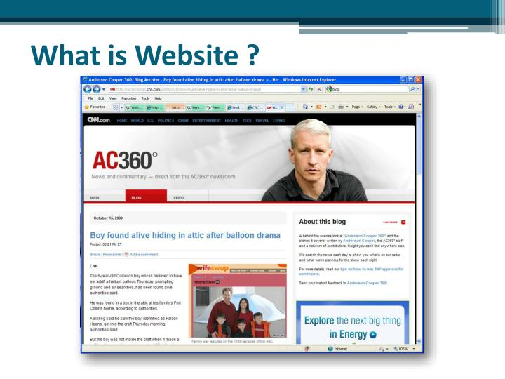 What is Website ?