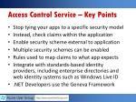 access control service key points