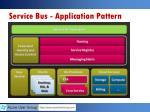 service bus application pattern