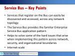 service bus key points