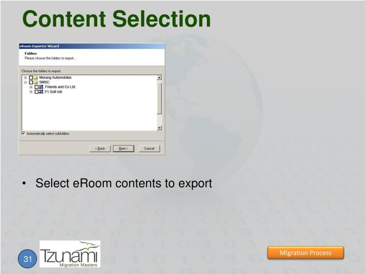 Content Selection