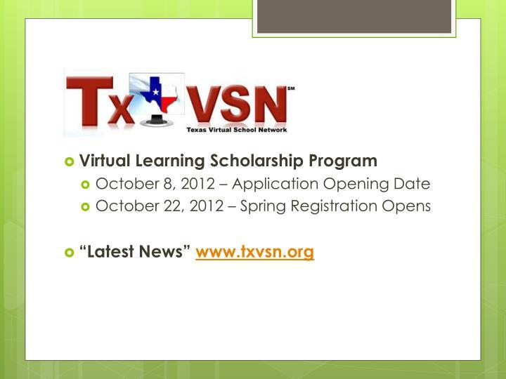 Virtual Learning Scholarship Program