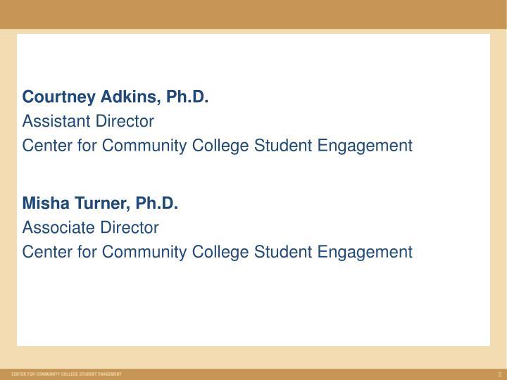 Courtney Adkins, Ph.D.