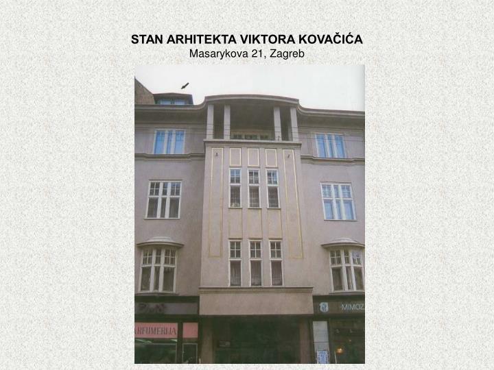 STAN ARHITEKTA VIKTORA KOVAČIĆA