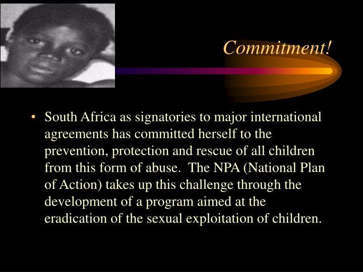Commitment!