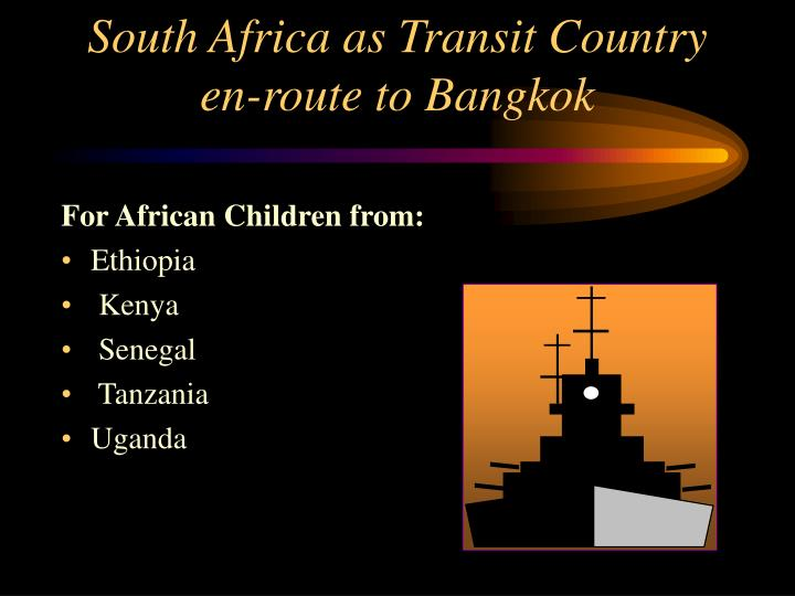 For African Children from: