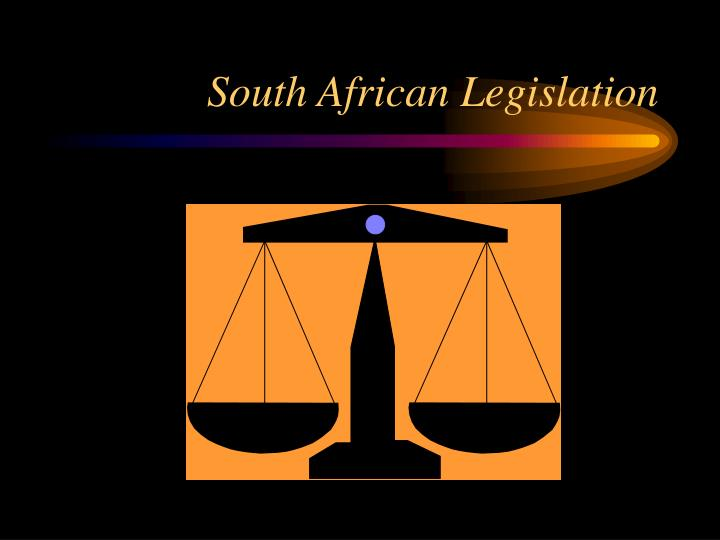 South African Legislation