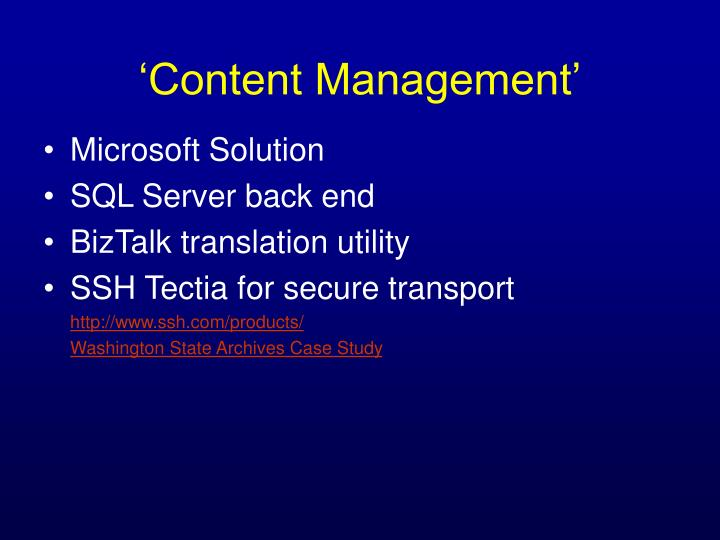 Microsoft Solution