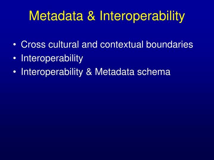 Cross cultural and contextual boundaries