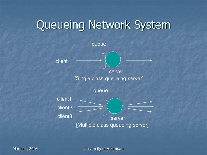Queueing network system