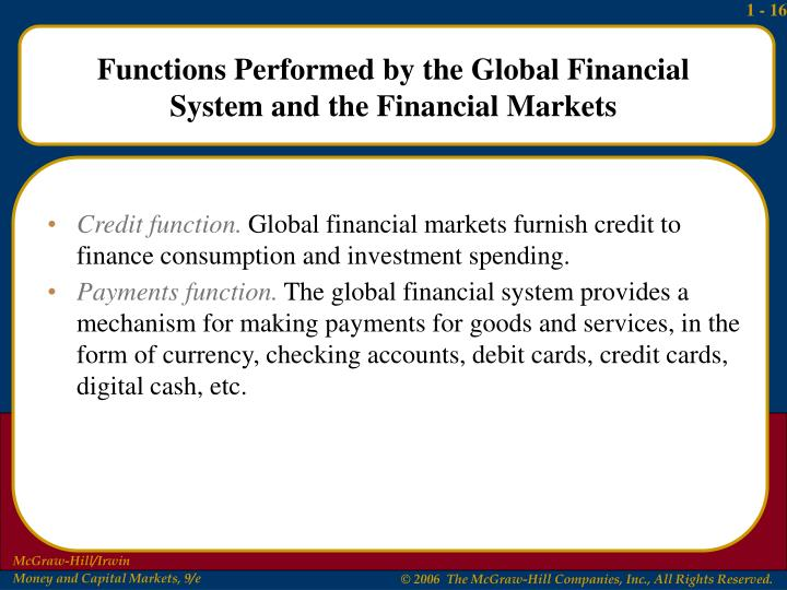 Credit function.