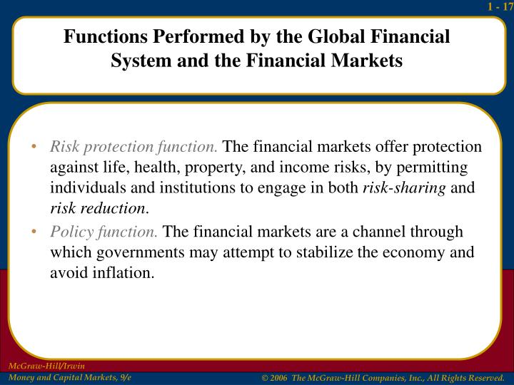 Risk protection function.
