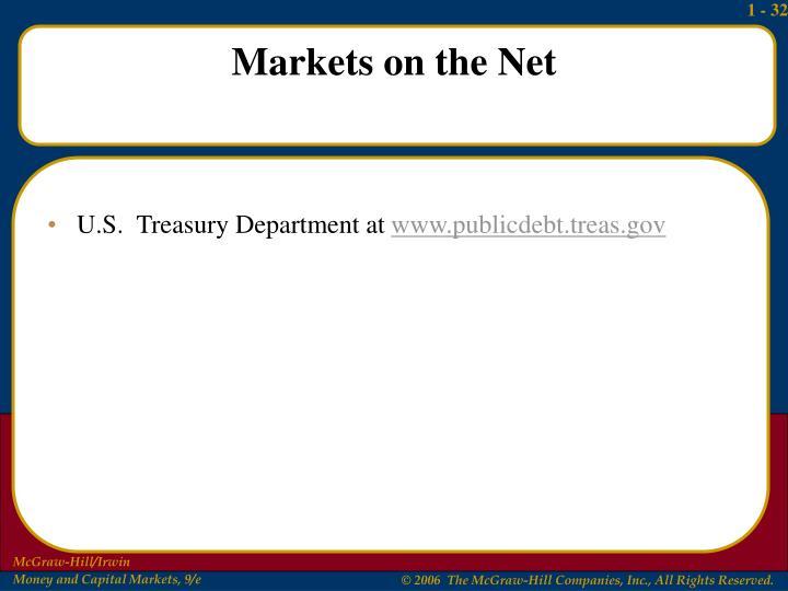 U.S.  Treasury Department at