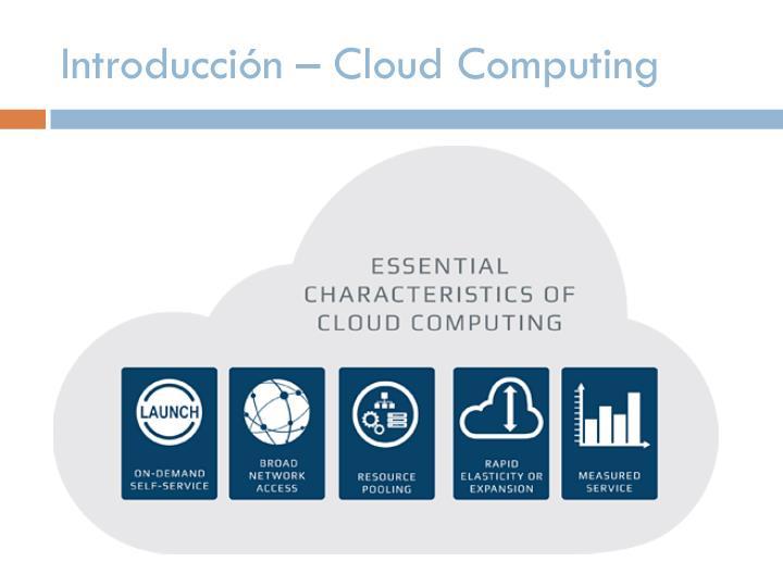 Introducción – Cloud Computing