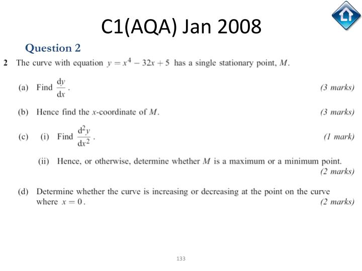 C1(AQA) Jan 2008