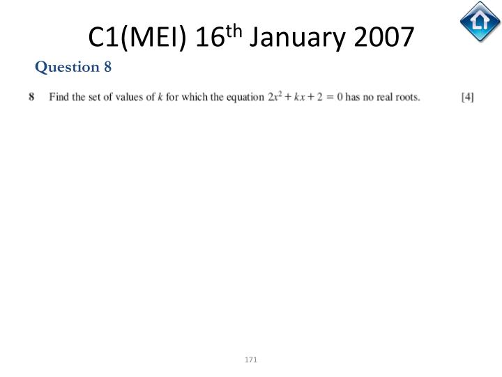C1(MEI) 16