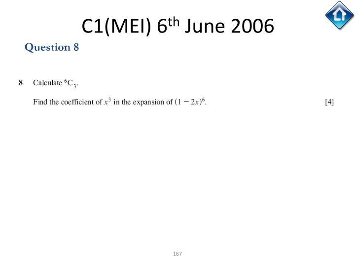 C1(MEI) 6
