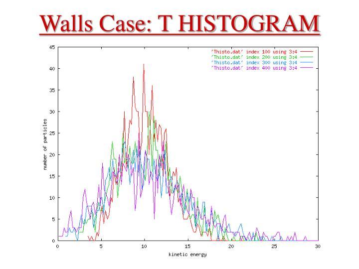 Walls Case: T HISTOGRAM