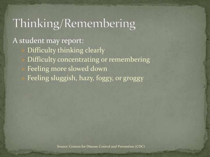 Thinking/Remembering
