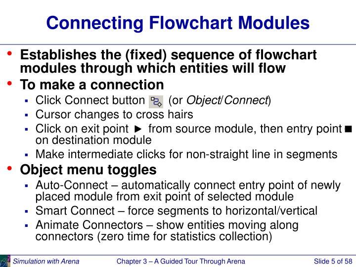 Connecting Flowchart Modules