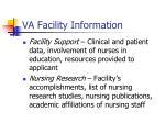 va facility information