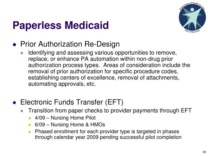 Paperless Medicaid