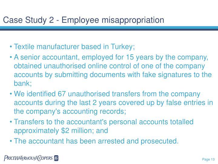 Case Study 2 - Employee
