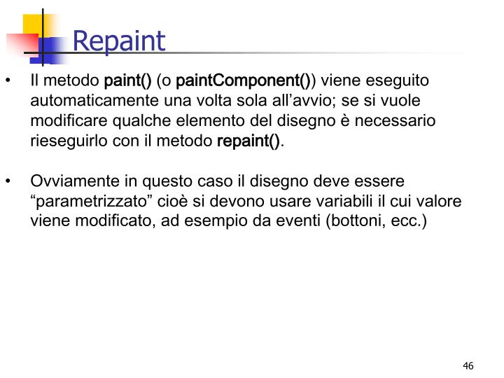 Repaint