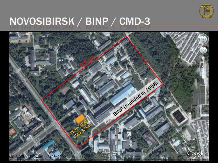 Novosibirsk / BINP / CMD-3