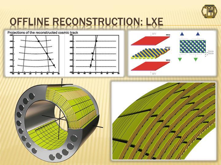 OFFLINE Reconstruction: