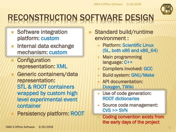 CMD-3 Offline Software