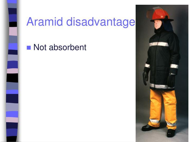 Aramid disadvantages