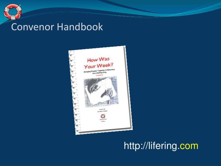 Convenor Handbook