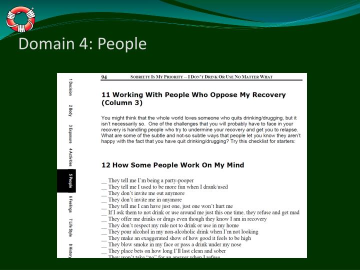Domain 4: People