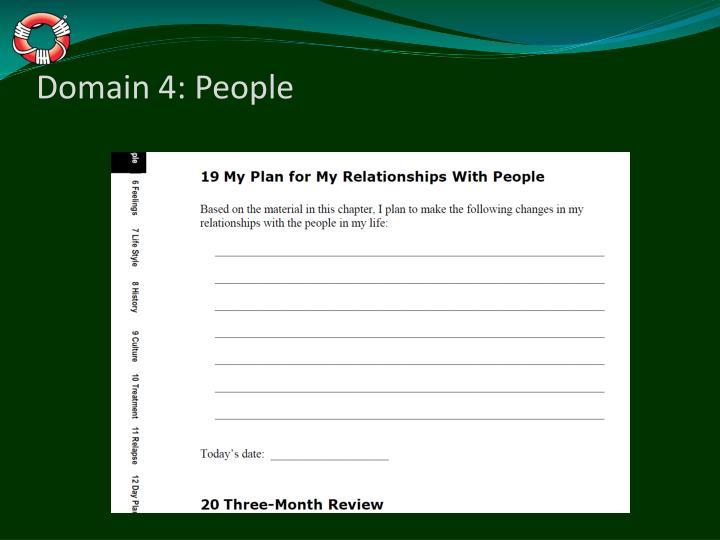 Domain 4: People