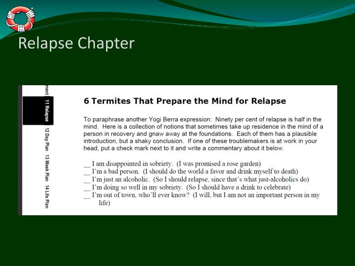Relapse Chapter