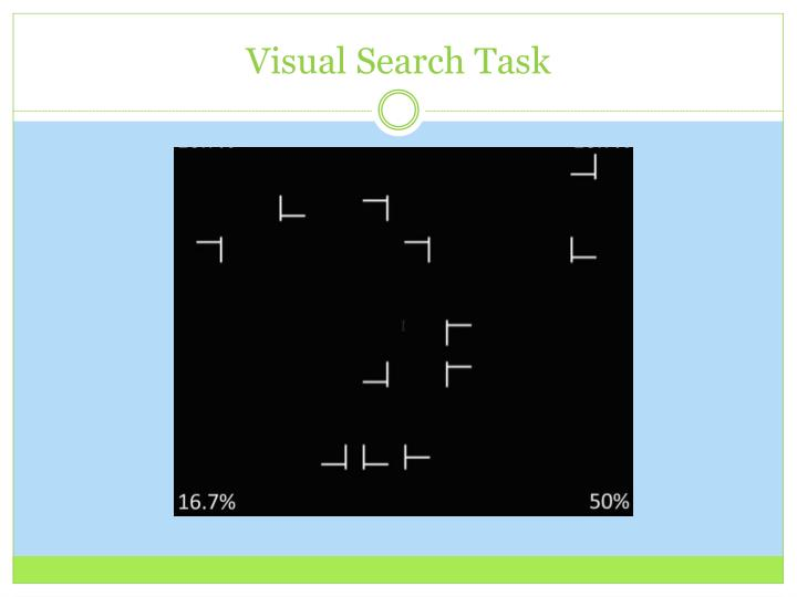 Visual Search Task