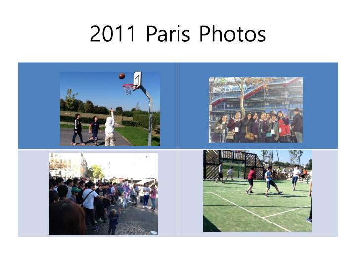 2011 Paris Photos
