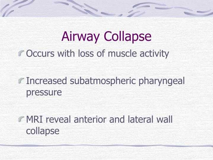 Airway Collapse