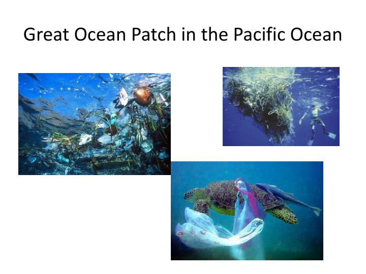 Great Ocean Patch in the Pacific Ocean