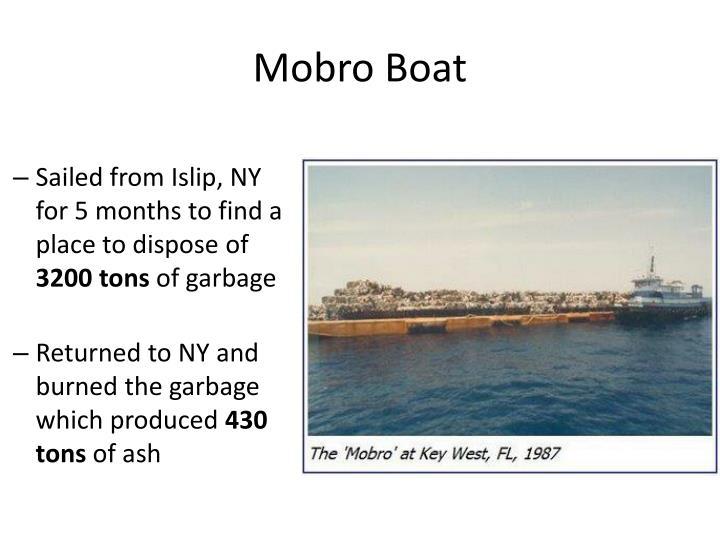 Mobro Boat
