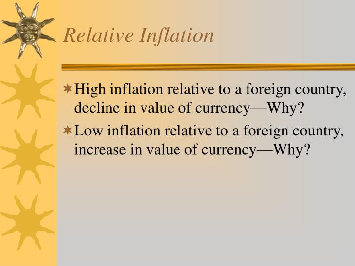 Relative Inflation