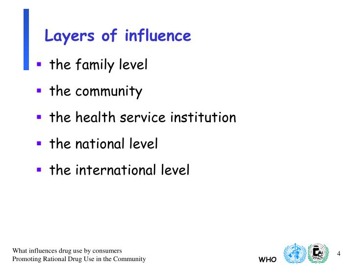 Layers of influence