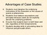 advantages of case studies1