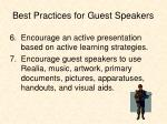 best practices for guest speakers2