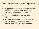 best practices for guest speakers3